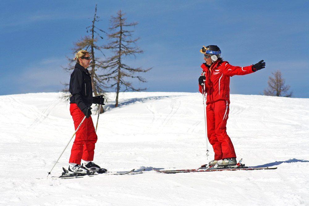 Skischule - Salzburger Sportwelt - Skifahren lernen mit bestens ausgebildeten Skilehrern