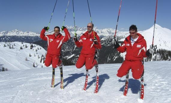 Skischule - Zauchensee - Top Alpin Walchhofer - Bestens ausgebildete Skilehrer