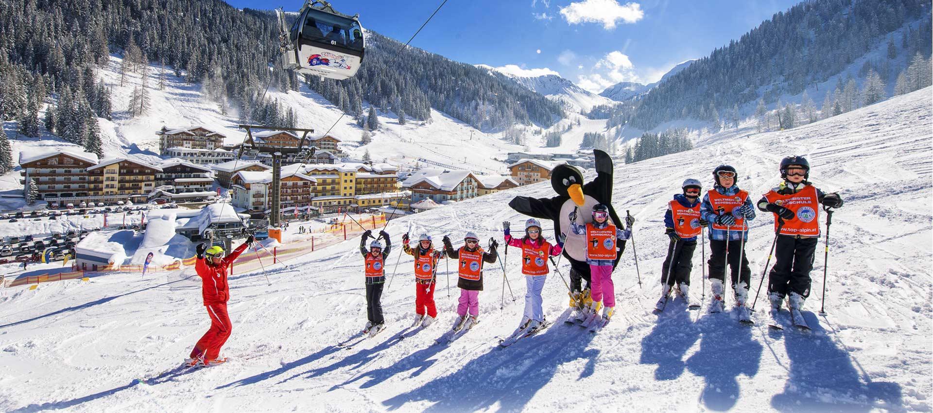 Skischule - Zauchensee - Weltmeisterskischule Top Alpin Walchhofer - Skikurse