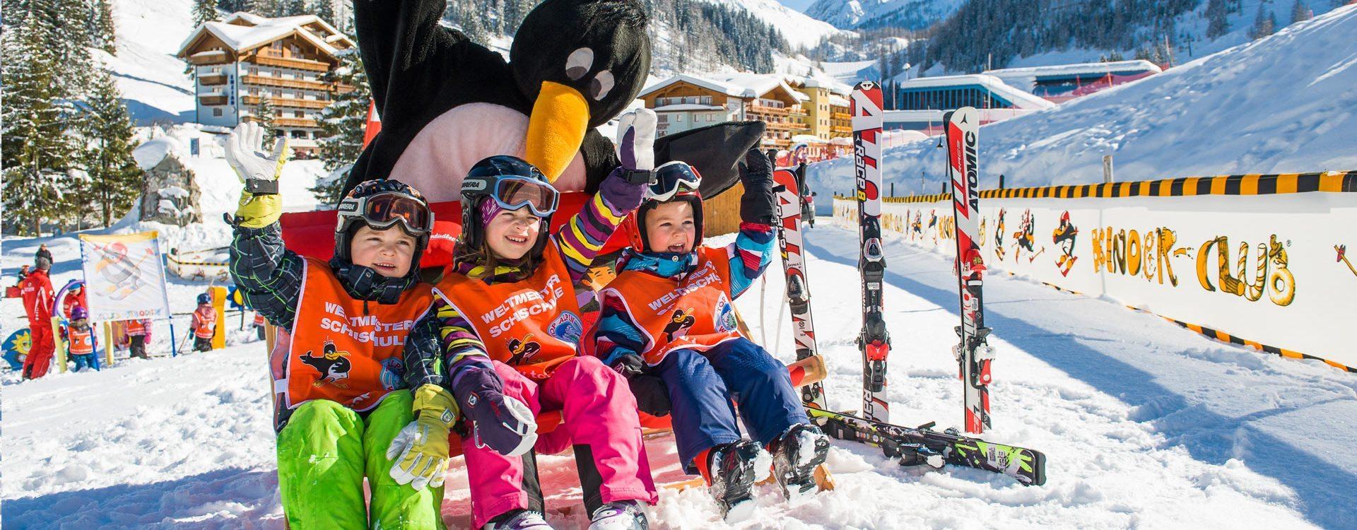 Skischule - Zauchensee - Top Alpin Walchhofer - Bobo der Pinguin