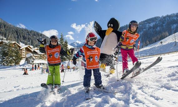 Skischule - Zauchensee - Skischule Top Alpin Walchhofer - Spielerisches Lernen mit Bobo