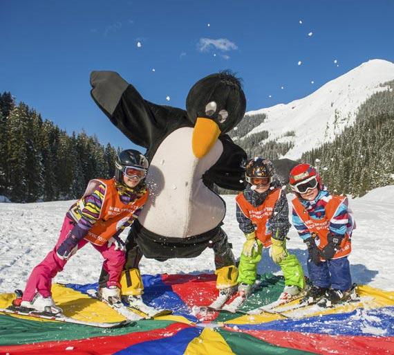 Skischule Top Alpin Walchhofer - Skifahren lernen im Kinderland