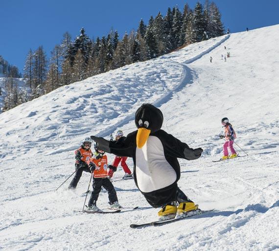 Skischule - Zauchensee - Bobos Kinderclub im Skigebiet