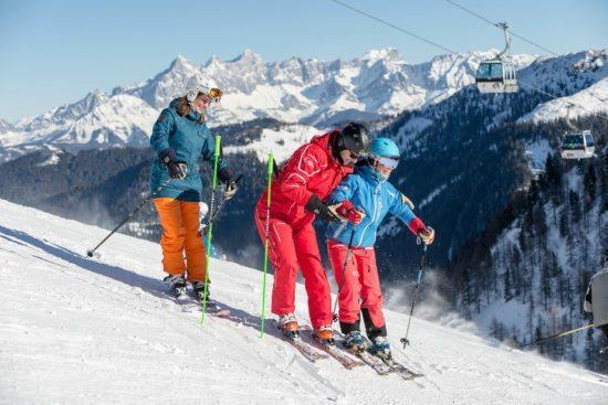Skikurse für Kinder & Jugendliche in der Schischule Top Alpin in Altenmarkt-Zauchensee, Ski amadé
