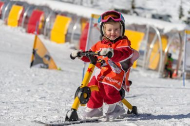 Skispielunterricht in der Schischule Top Alpin in Altenmarkt-Zauchensee, Ski amadé