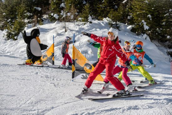 Kinder-Skikurse in der Schischule Top Alpin in Altenmarkt-Zauchensee, Ski amadé