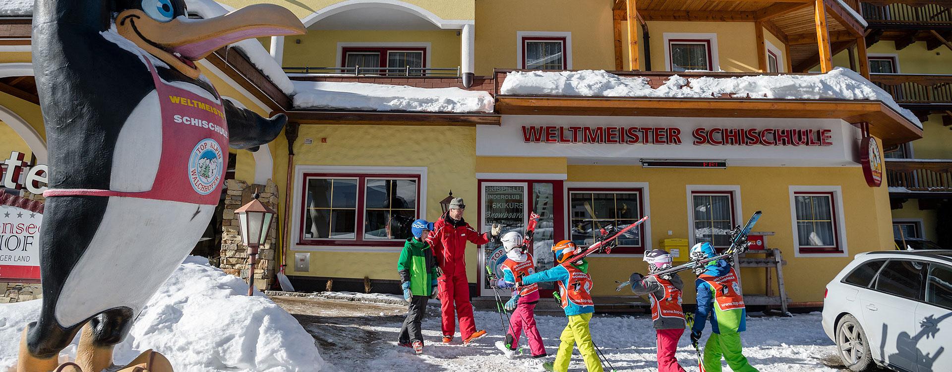 Skischulbüro –Schischule Top Alpin in Altenmarkt-Zauchensee, Ski amadé