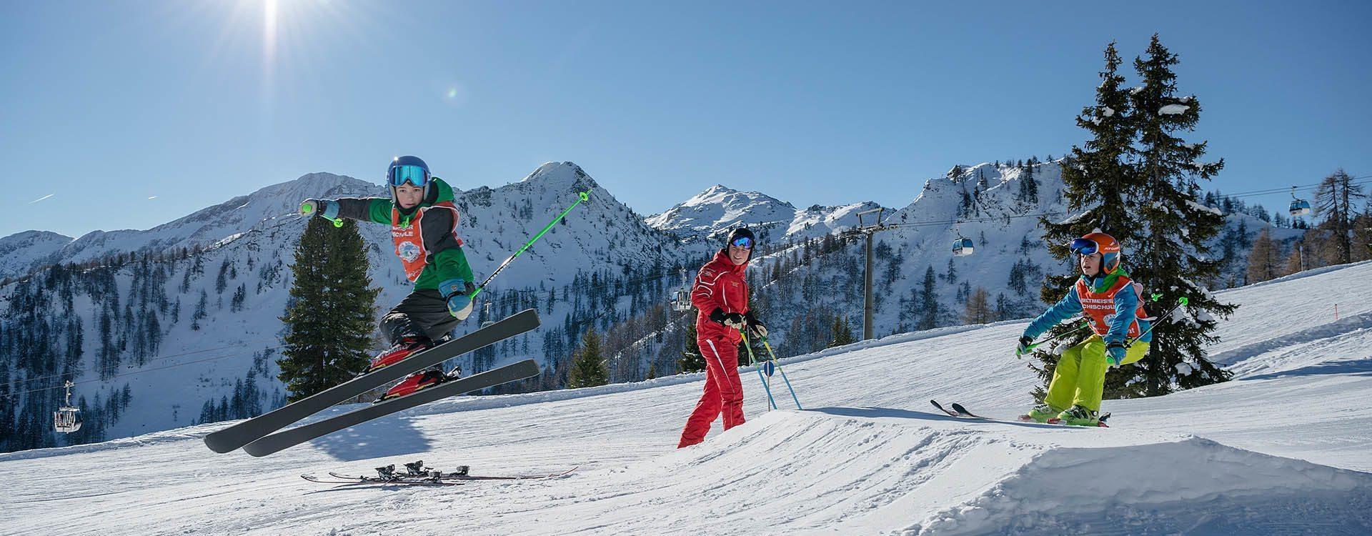 Skikurse für Kinder – Schischule Top Alpin in Altenmarkt-Zauchensee, Ski amadé