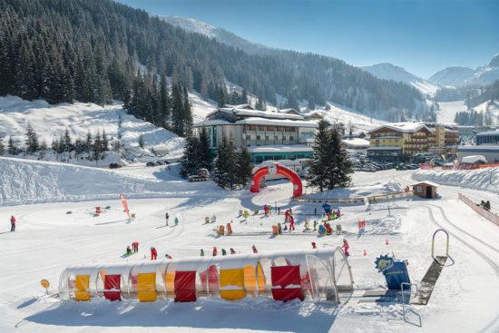 Kinder-Skikurse in der Schischule Top Alpin in Altenmarkt-Zauchensee, Ski amadé