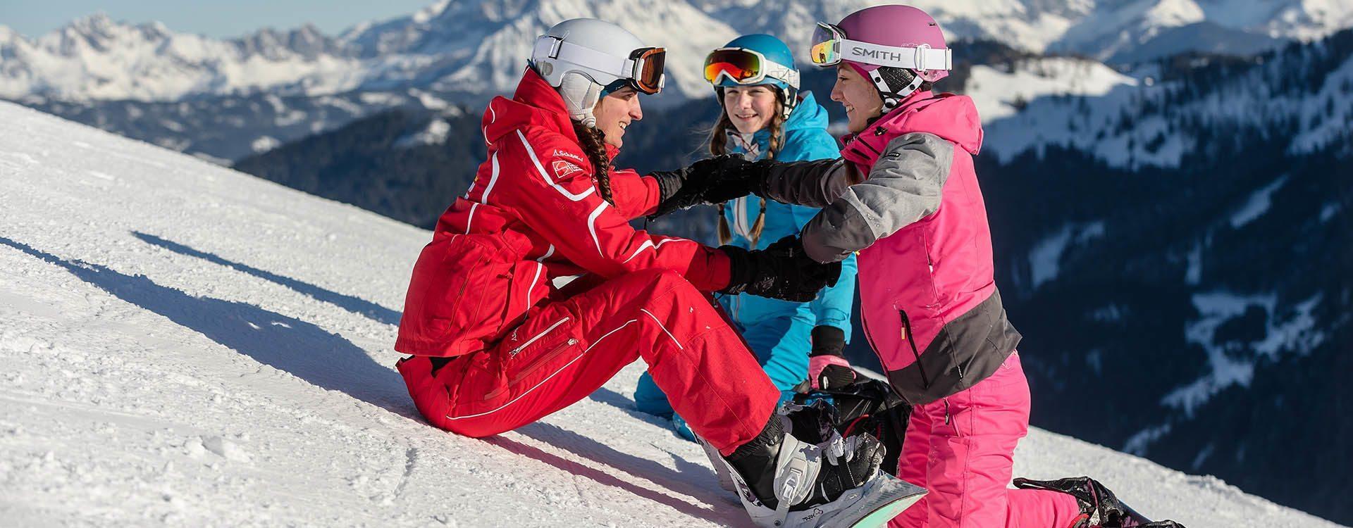 Skikurse & Snowboardkurse in der Schischule Top Alpin in Altenmarkt-Zauchensee, Ski amadé