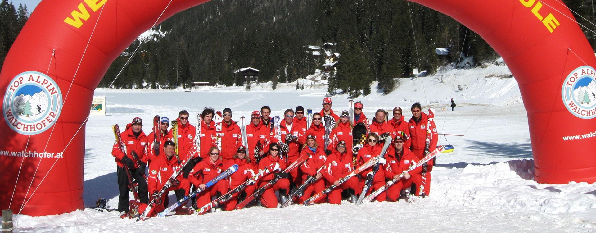 Team - Schischule Walchhofer in Altenmarkt-Zauchensee, Ski amadé
