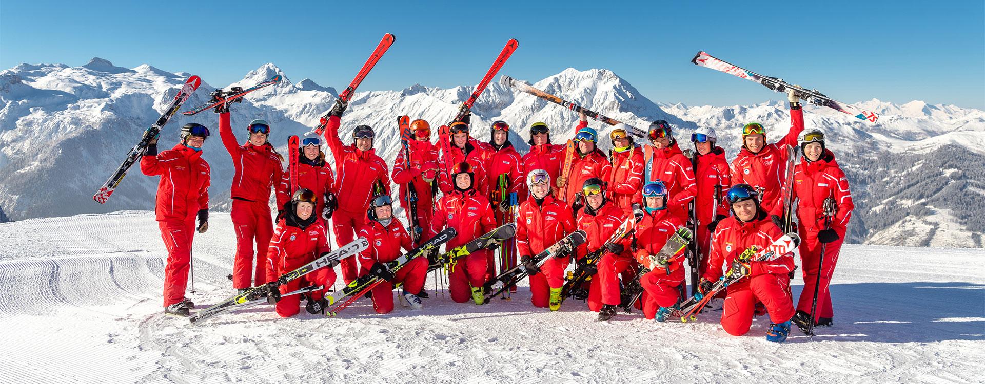 Team der Schischule Walchhofer Top Alpin