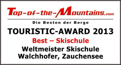 Top of the Mountains Touristic-Award